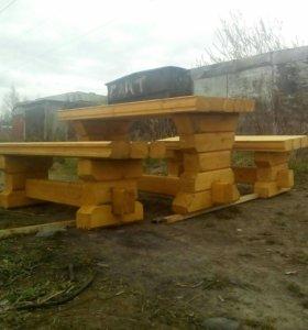 Уличная мебель для своих домов и дач