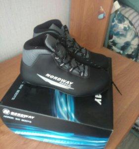 Ботинки для лыж.Новые.