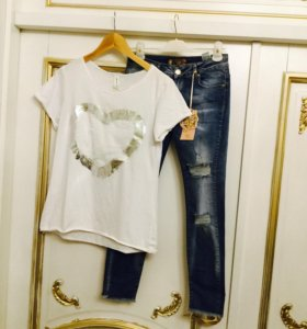 Блузка +джинсы