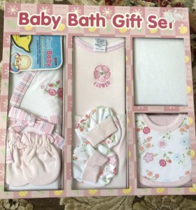 Подарочный набор детских вещей 62р для девочки