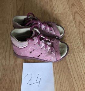 Обувь размер 24/обмен