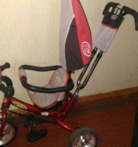 Детский трехколесный велосипед CJB Toys