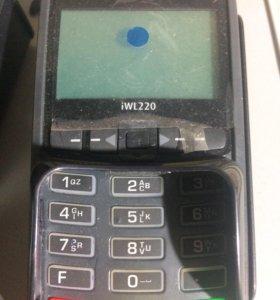 Мобильный безналичный терминал