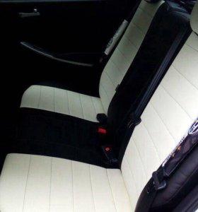 Авточехлы для Hyundai Solaris