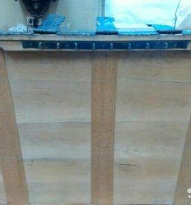 Старинный кованый сундук