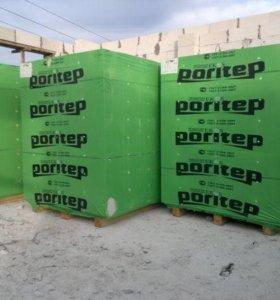 Блоки газобетонные Poritep