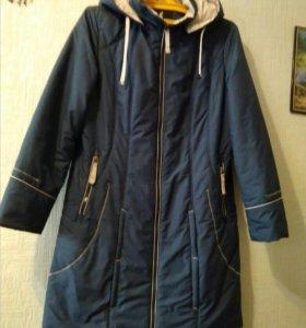 Пальто демисезонное р.50