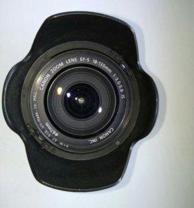 Обьектив canon efs 18-135mm