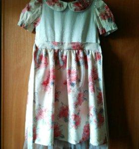 Платье нарядное летнее