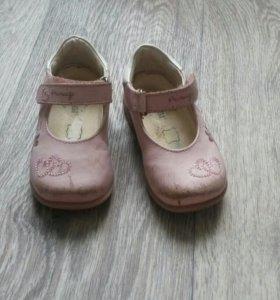 Детские туфли 20р.