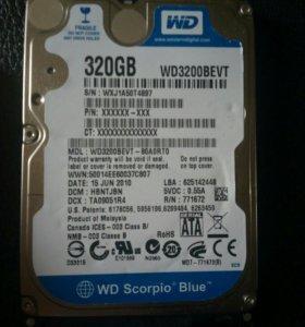 Жесткий диск для x-box wd320gb