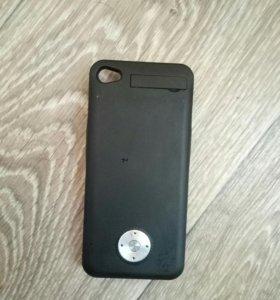 Чехол - зарядка для iPhone 4s