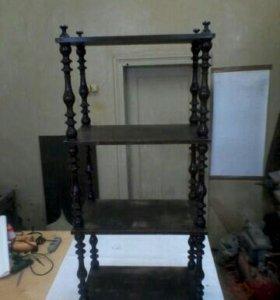 Старинная этажерка