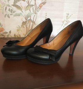 Кожаные туфельки Itaita🖤🖤🖤