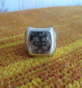 Кольцо серебряное (21)