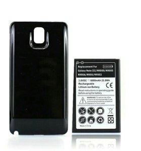 Аккумулятор на 6800mAh для Samsung note 3