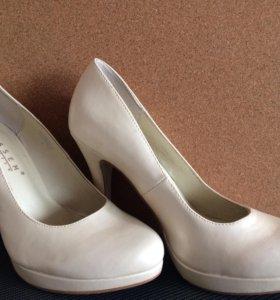 Свадебные туфли 37,5-38
