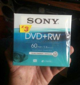 Диски для видеокамеры