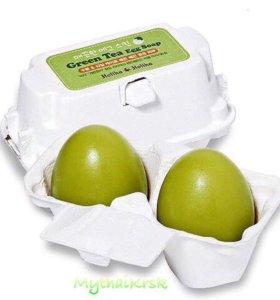 Мыло с зелёным чаем Holika 2 шт