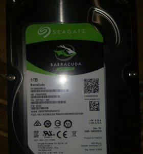 Новый Жесткий диск SATA-3 1Tb