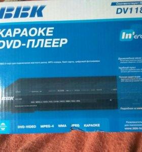 DVD плеер+микрофон Philips