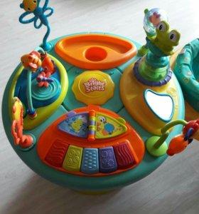 Игровой столик с ходунками