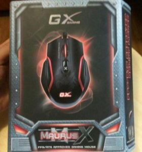 НОВАЯ Мышь genius maurus gx gaming