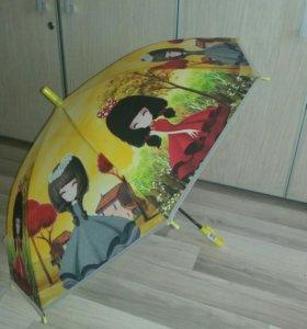 Зонт детский новый