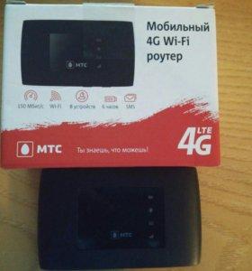 Wi-fi 4G роутер МТС