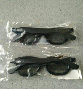 3D Очки для тв Philips (пассивные)