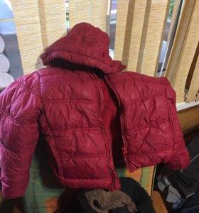 Зимние куртки и комбинезоны