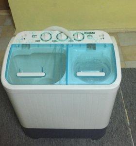 Новая стиральная машина бытовая полуавтоматическая