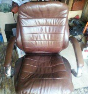 Кресло,нат.кожа