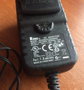 Ktec AC Adapter 12V 2.0A ksas0241200200d5