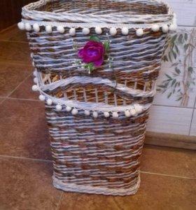 Корзина-ваза напольная ,по вашим заказам