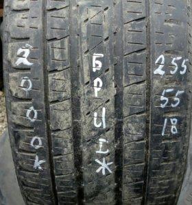 255/55R18 комплект летних шин Бриджстоун
