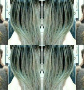 Стрижки , мелирование волос.