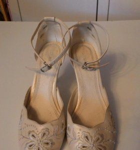 Туфли свадебные 38.5