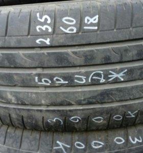235/60R18 комплект летних шин Бриджстоун