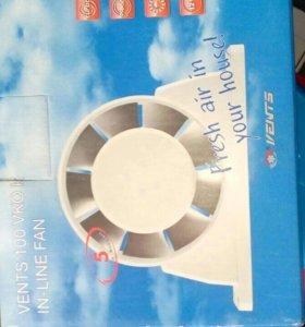 Новый Вентилятор в вытяжку
