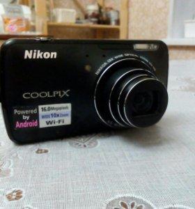 Фото камера Nikon s800c