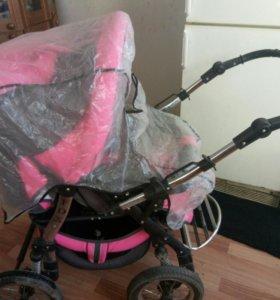 Продам коляску трансформер Anmar Fox для малышки
