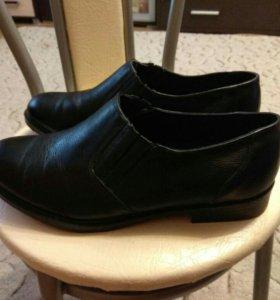Офицерские кожаные ботинки новые р-р43