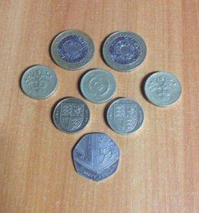 Набор монет Великобритания