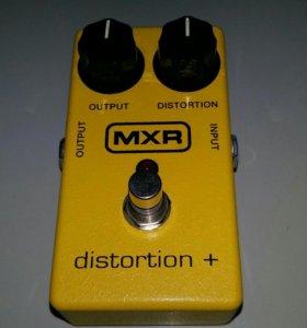 Педаль эффектов дисторшн MXR distortion plus