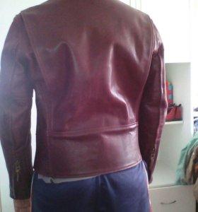Куртка кожанная муж.