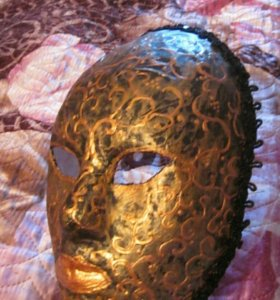 Панно.Венецианская маска.ручная работа