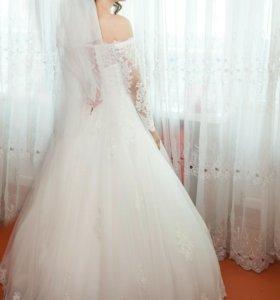 Свадебное платье, счастливое!