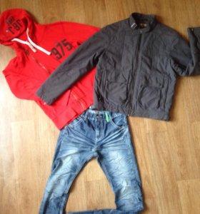 Куртка и толстовка