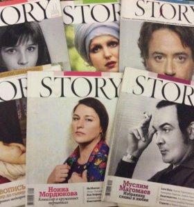 Журналы STORY, Биография и т п